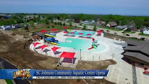 Racine & Me July 15, 2018: SC Johnson Aquatic Center, Ken Yorgan, Visioning a Greater Racine, and RAM's KJB Tribute