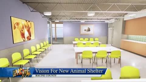Racine & Me: Matching Challenge for New Animal Shelter