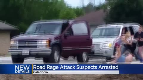 Suspects in Caledonia road rage attack arrested