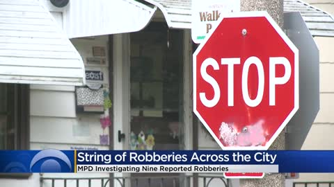 Milwaukee Police investigating several overnight armed robberies
