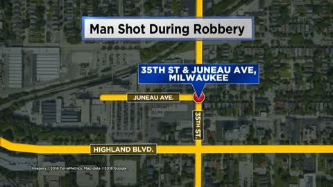 Man shot during robbery, MPD investigating