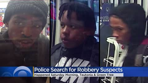 Milwaukee Police searching for three suspects, allegedly robbed...