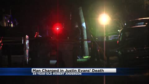 Man charged in shooting death of 6-year-old Justin Evans