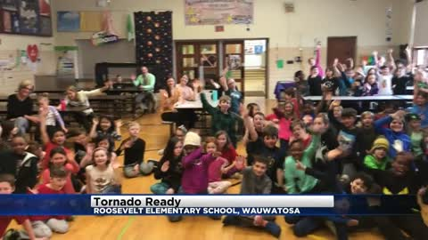 Tornado Ready at Roosevelt Elementary in Wauwatosa