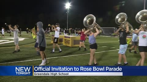 Greendale High School marching band invited to Rose Bowl Parade