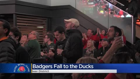 Fans gather for Rose Bowl watch parties in Milwaukee's Deer District