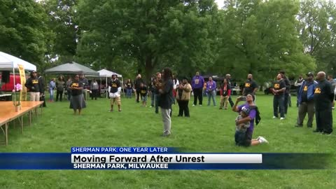 Sherman Park native and Milwaukee Alderman Russell Stamper reflects on Sherman Park one year after the unrest