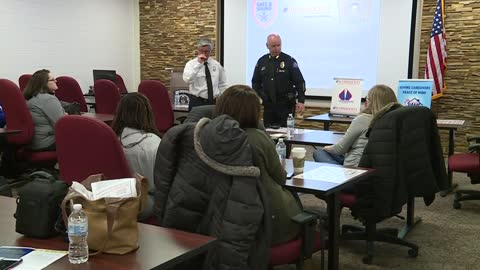 Autism awareness training helps parents, children with autism communicate with first responders