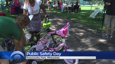 First Park & Public Safety Day held at Kosciuszko Park