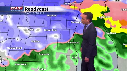 Overnight Update: Lingering flurries and sprinkles overnight