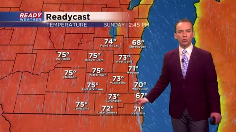 Warmest air of the season arrives for some on Easter
