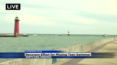 UPDATE: Search for boy who jumped off Kenosha pier into Lake Michigan called off
