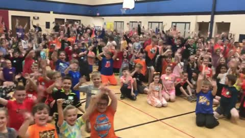 Tornado Ready at Section Elementary in Mukwonago