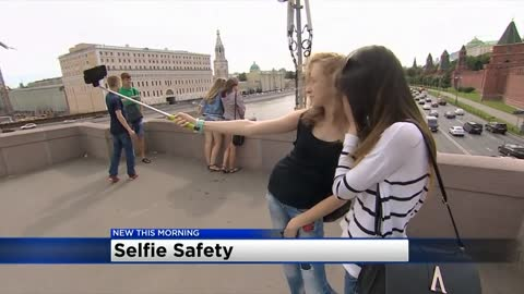 National Park Service brings attention to taking safe selfies