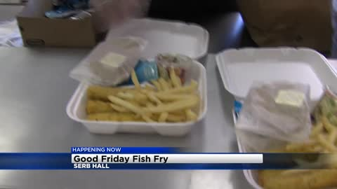 8,000 pieces of fish to be served at Serb Hall Good Friday fish...
