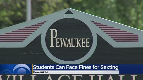 Students can face fines for sexting in Pewaukee