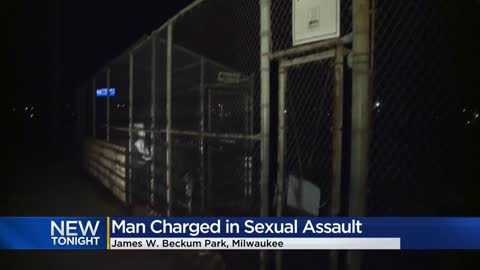 Man charged with sexually assaulting woman in Milwaukee park