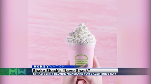 Shake Shack releasing a glitter shake to benefit charity for Valentine's Day