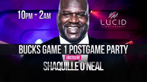 Shaquille O'Neal to hold post party at Lucid Light Lounge following Bucks game