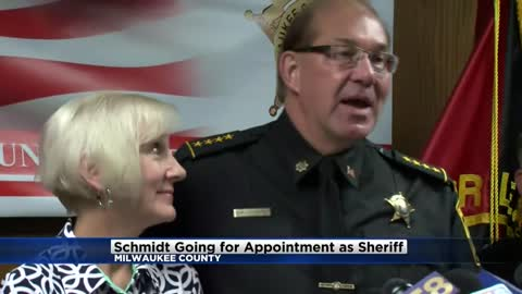 Acting Sheriff Richard Schmidt will seek appointment as interim sheriff of Milwaukee County
