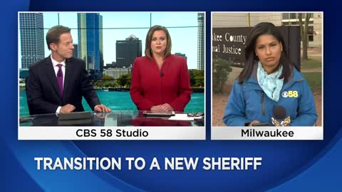 Acting Milwaukee County Sheriff introduces himself, talks about goals for his new role