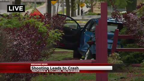 26-year-old man shot while driving near Teutonia and Villard