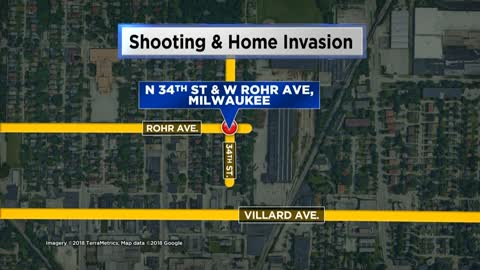 MPD investigating home invasion, shooting near N. 34th St. and W. Villard Ave.