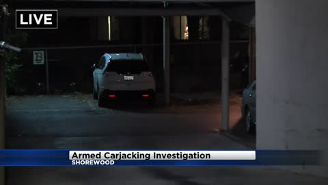 Shorewood Police investigating armed carjacking in underground parking structure
