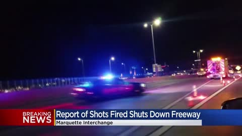 Milwaukee County Sheriff's Office investigating report of shots...