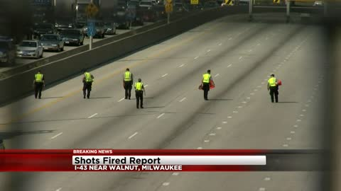 The latest: 19 shell casings recovered after suspect fires shots on I-43