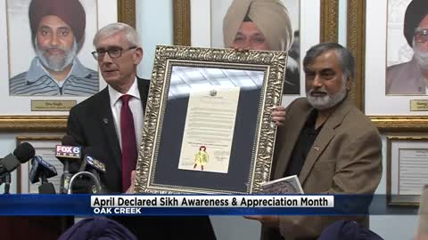 April declared 'Sikh Awareness and Appreciation Month' by Governor Evers