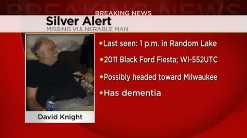 Silver alert canceled, missing Sheboygan County man found safe