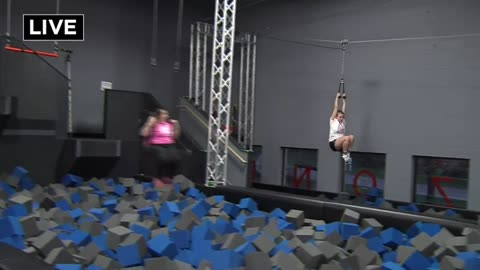Sky Zone debuts six new attractions at grand re-opening Saturday