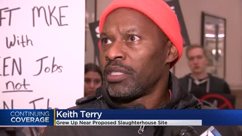 Dozens protest proposed slaughterhouse location on Milwaukee's...
