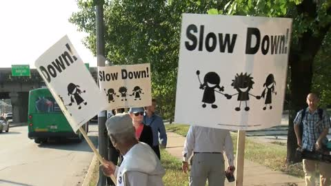 """Rally for Safe Streets"" held to combat speeding and reckless driving"