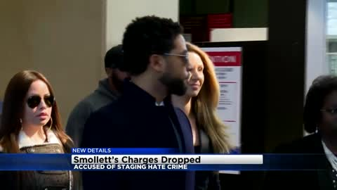 Jussie Smollett's attorneys say all criminal charges dropped,...