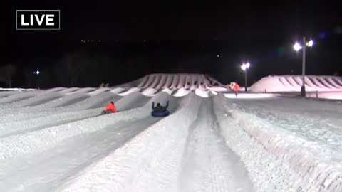 Winter is rampant on the slopes and runs at The Rock Complex in Franklin