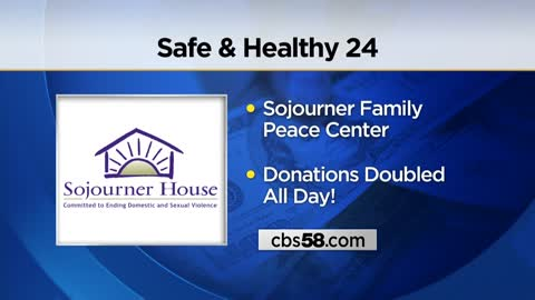 Sojourner Family Center's annual 24-hour giving event scheduled for Friday