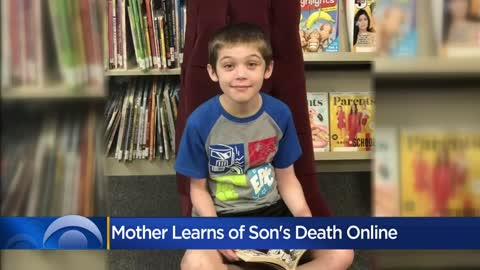 Milwaukee mom learns about son's death on internet