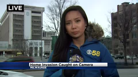Mother speaks out after south side home break-in caught on camera