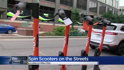 Spin scooters spotted in Milwaukee, Bird scooters to launch Wednesday