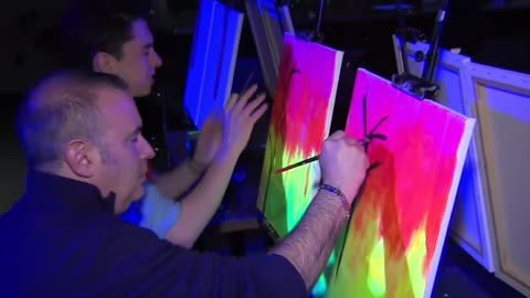 Learn to paint with glowing results at Splash Studio