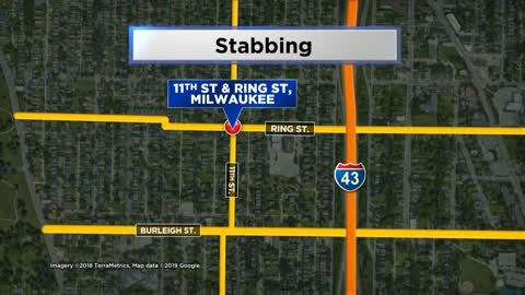 MPD: Man seriously hurt following stabbing, woman arrested