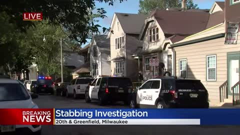 Milwaukee police investigating stabbing near 20th and Greenfield
