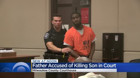 Milwaukee man accused of killing son over cheesecake appears in court