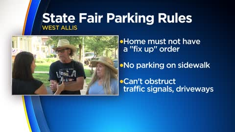 City of West Allis reminds residents of State Fair parking rules