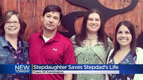 Washington County man saved by stepdaughter after going into cardiac arrest