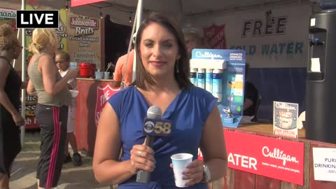 Thousands of visitors beat the heat at the Wisconsin State Fair