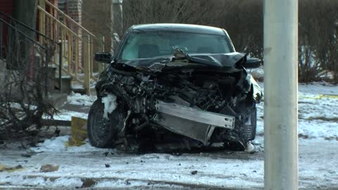 Four people extracted after stolen car crashes in Milwaukee