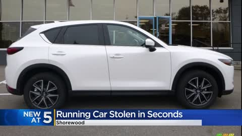 Community tips help find stolen Shorewood vehicle